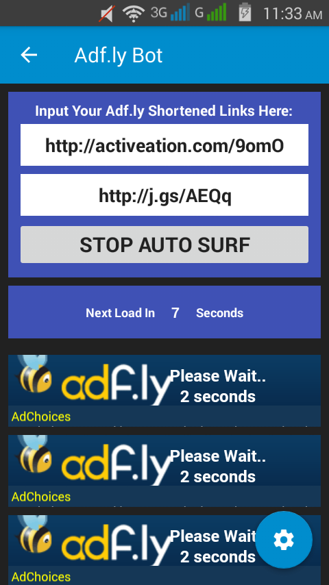 100% Working Adf ly Bot! Download The App Now! – The APIMES